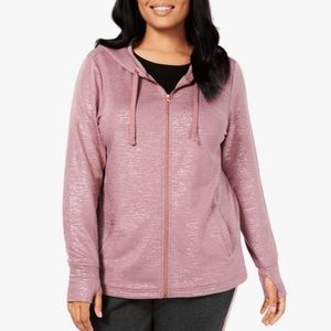 LAST CALL  Ideology rose gold hoodie